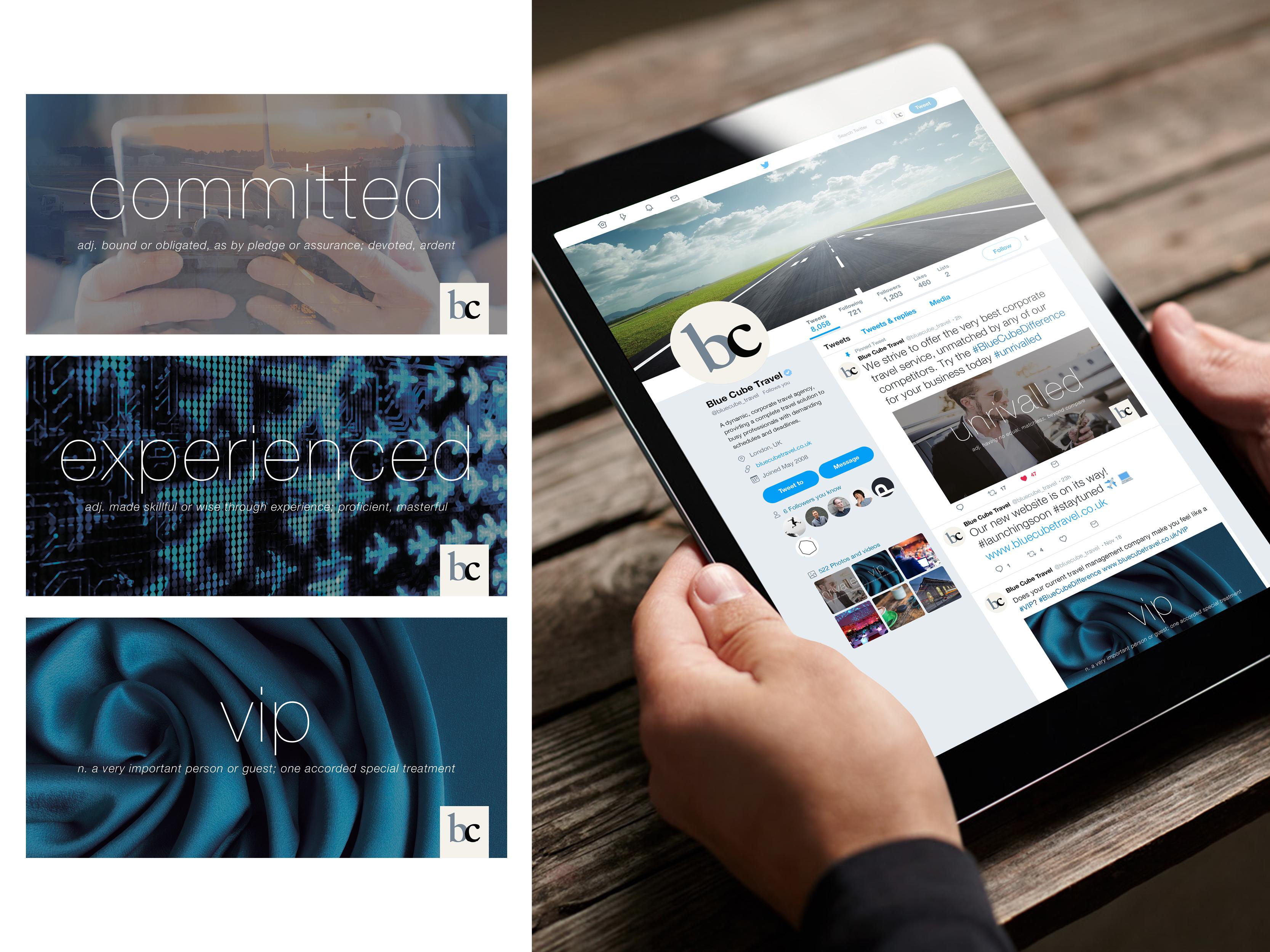Social media campaign graphics