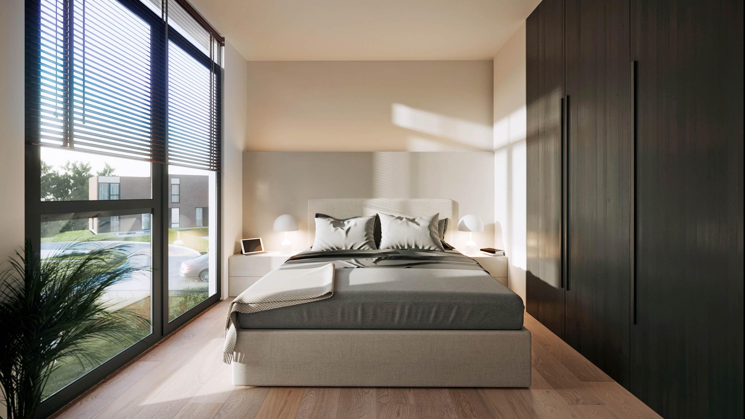 Zoetwaterlande slaapkamer