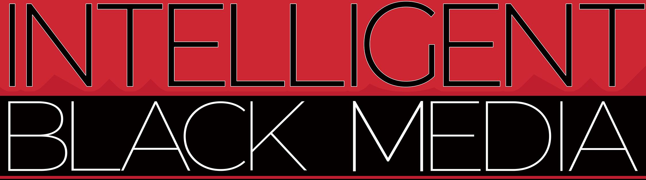 Intelligent Black Media (IBM) Logo