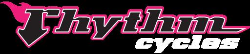 Rhythm Cycles Logo with flames