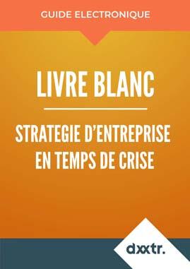 Livre blanc stratégie d'entreprise en temps de crises