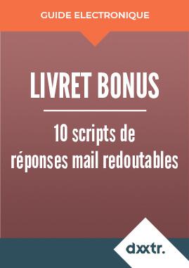 Livre blanc 10 scripts de réponses mail redoutables