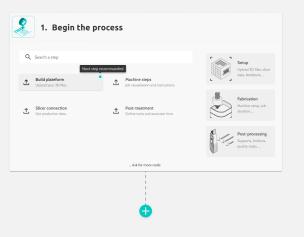 Handdddle 3D printing platform visual