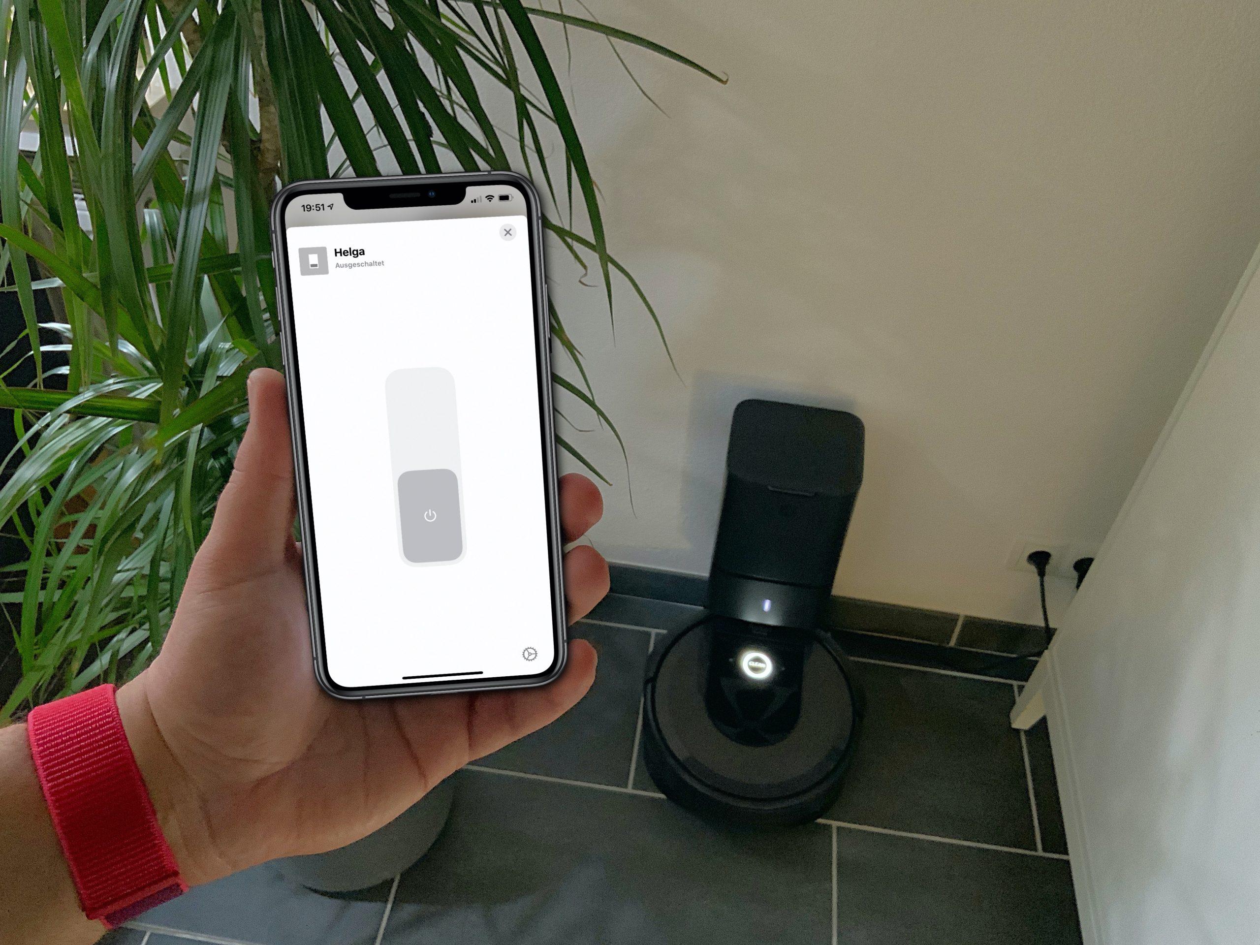 🇩🇪 Wie du einen iRobot Roomba in Apple HomeKit nutzen kannst