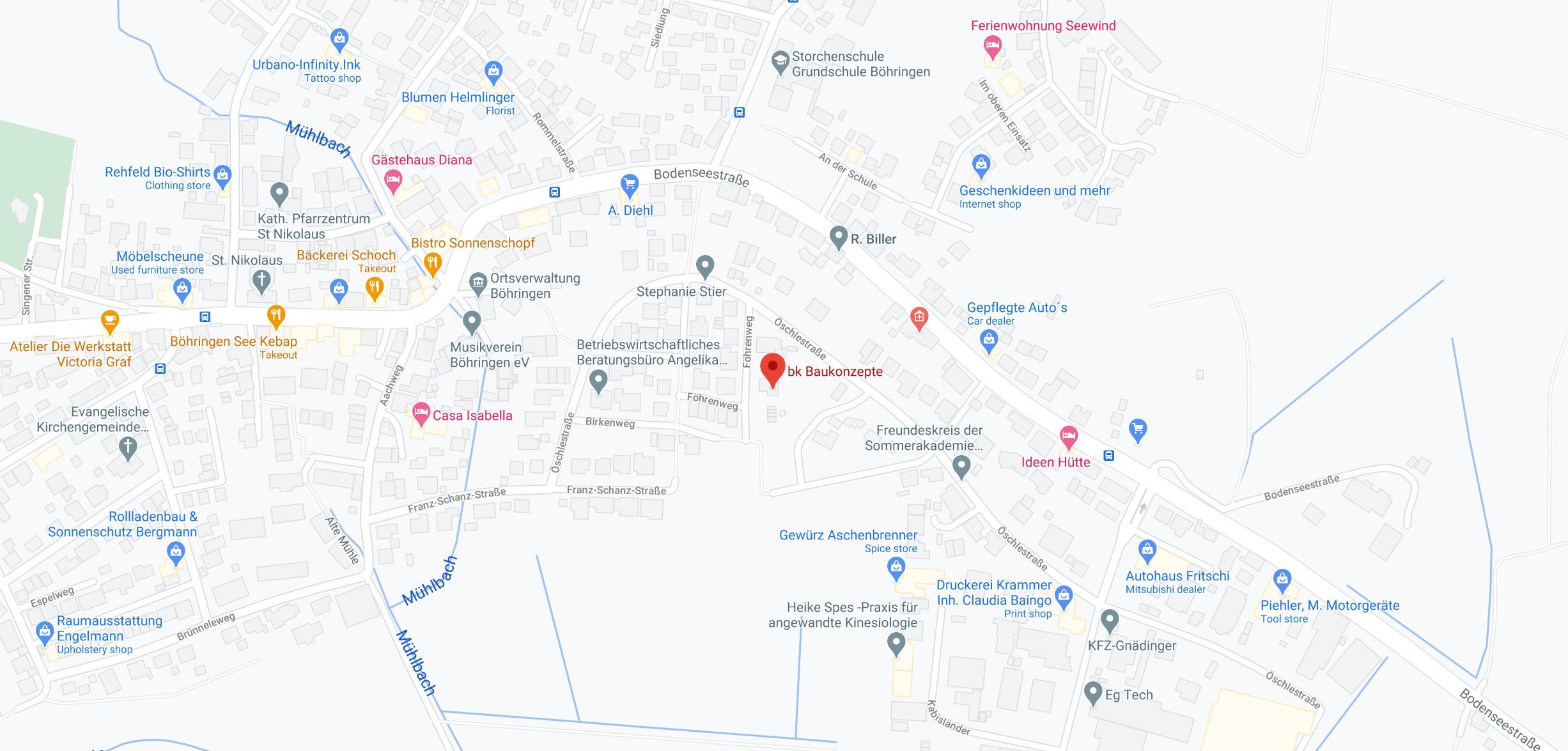 Karte Radolfzell