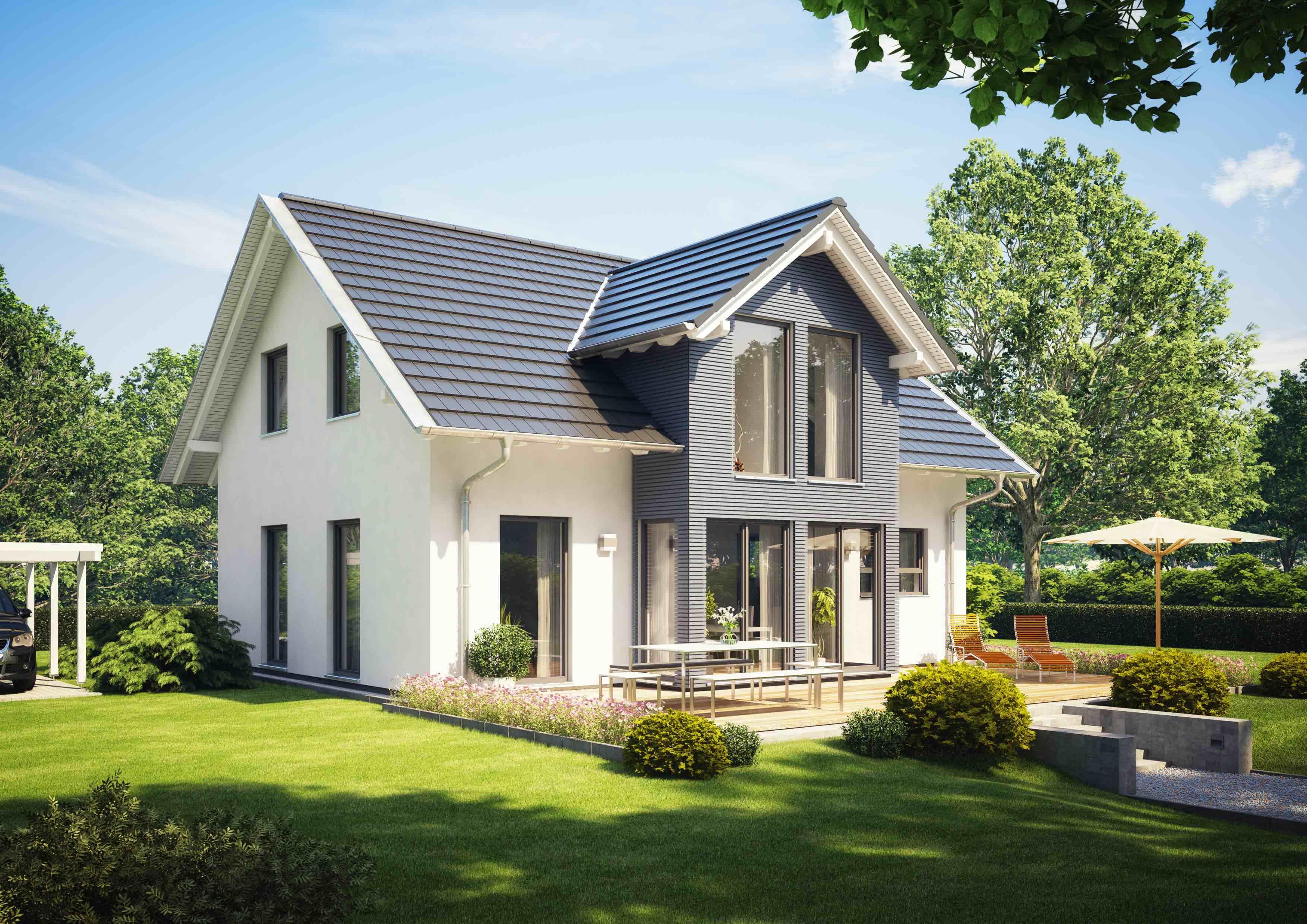 BK Jochen Blumer Musterhaus mit Garten