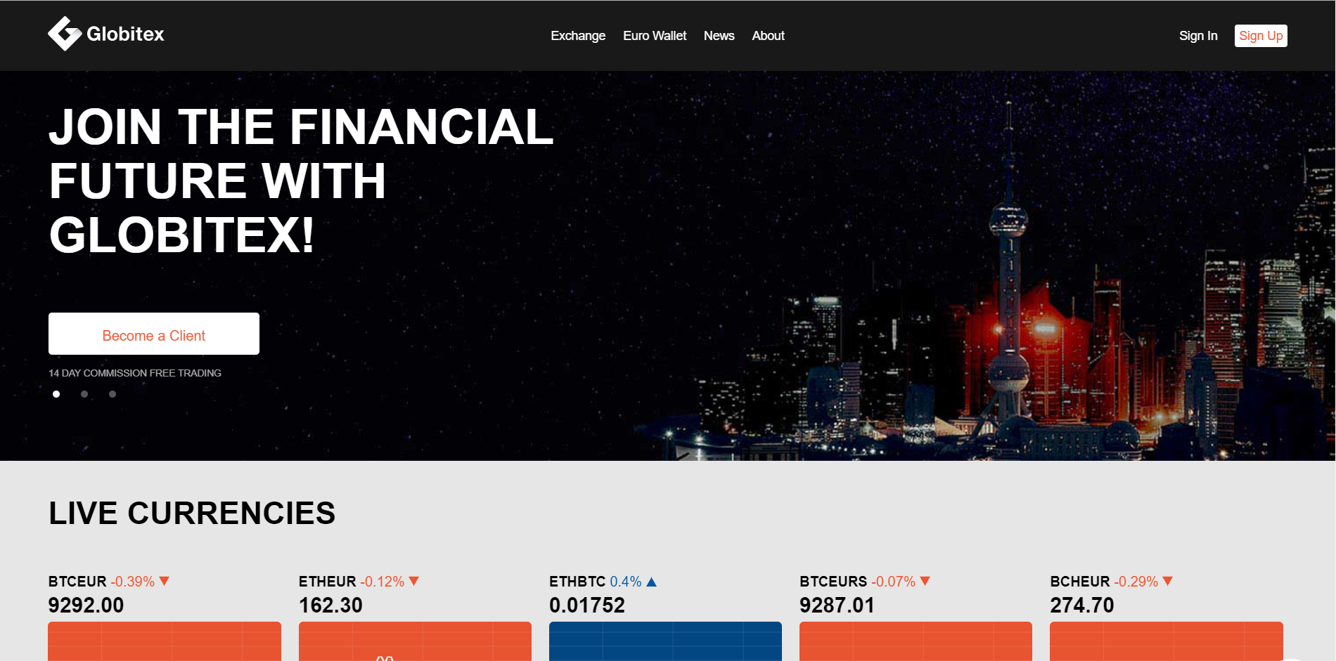 Cryptocurrency website CRO case