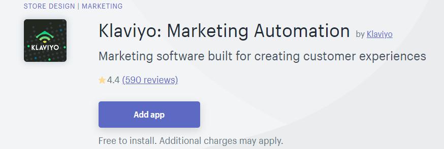 Klaviyo is marketing software built for creating customer experiences
