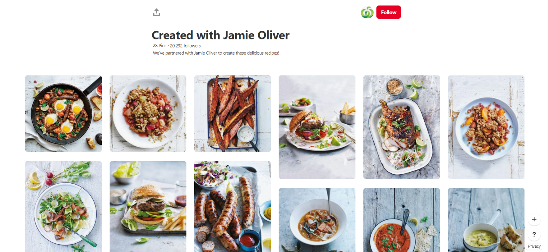 Woolworths is one of the most beautiful food profiles on Pinterest