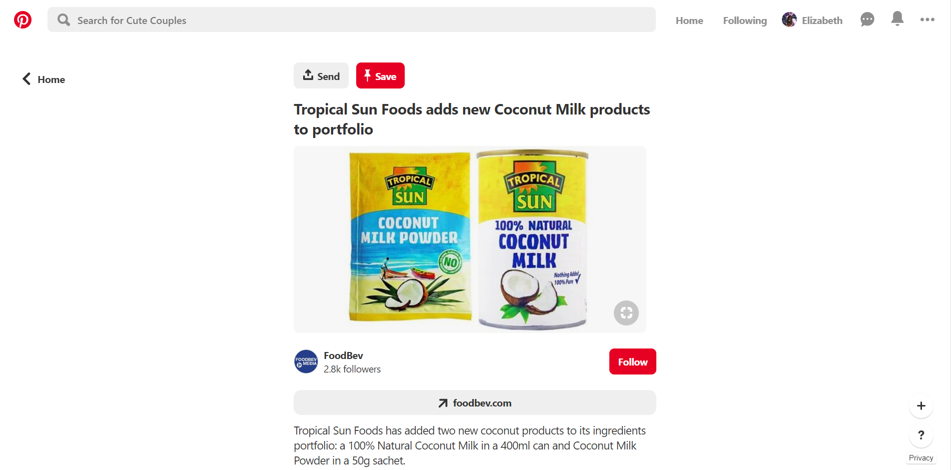 Make a detailed description of your products on Pinterest
