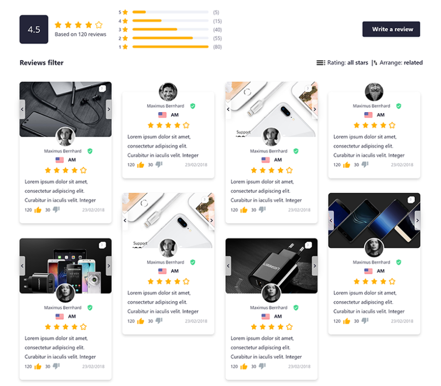 Ali Reviews is one of the best review apps at Shopify