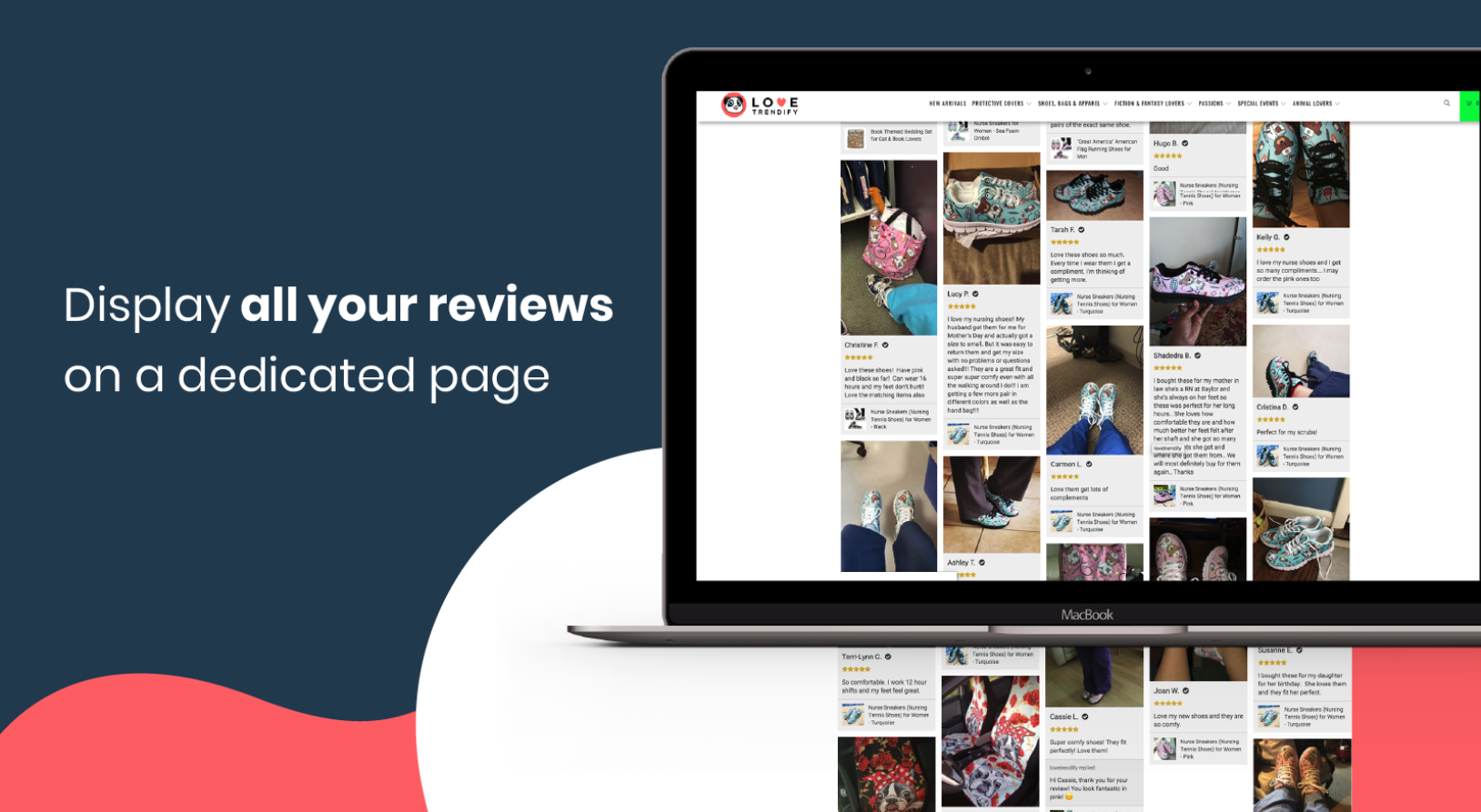 Loox ‑ Photo Reviews is one of the best review apps at Shopify