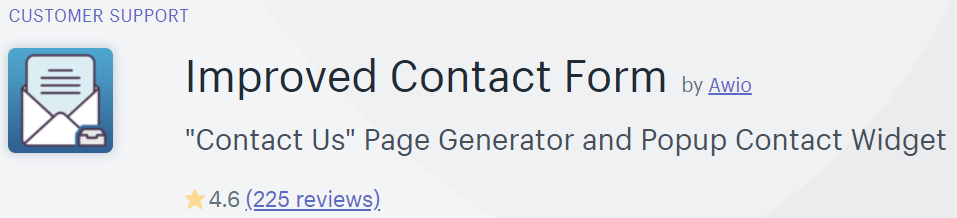 Improved Contact Form in the Shopify app store