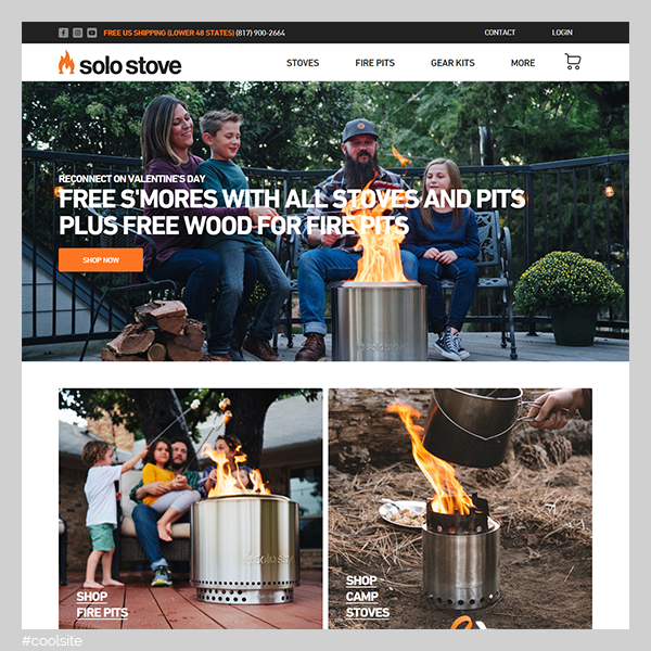 Solo Stove is a cool mobile ovens store