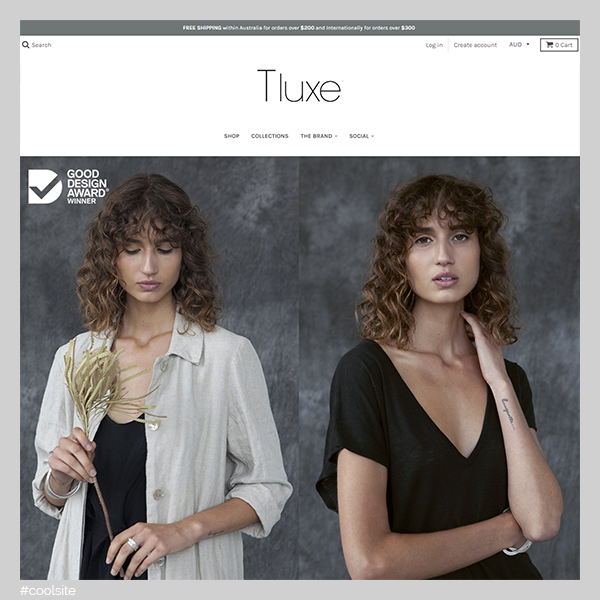 Tluxe is a cool clothing store
