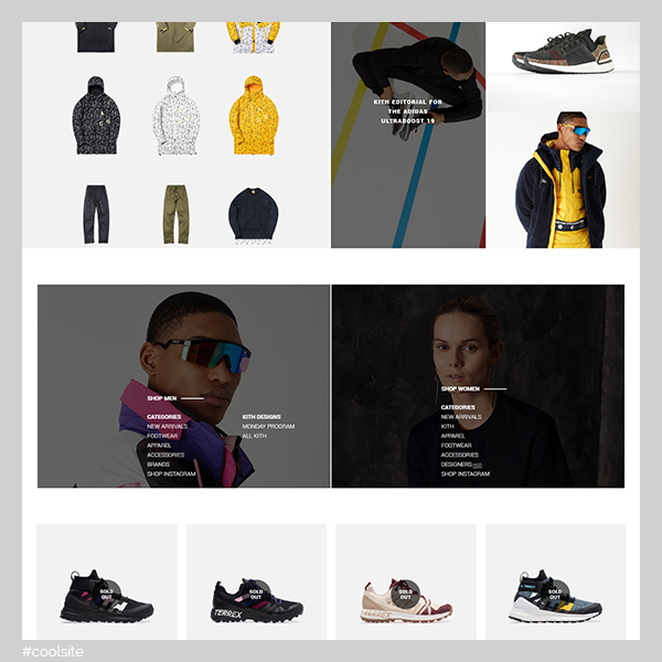 Kith is a cool apparel and footwear store