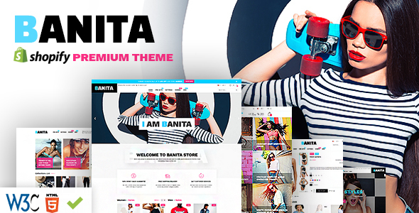 The fourth great Shopify template - Banita