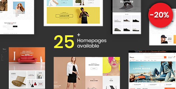 The eighth great Shopify template - Manor