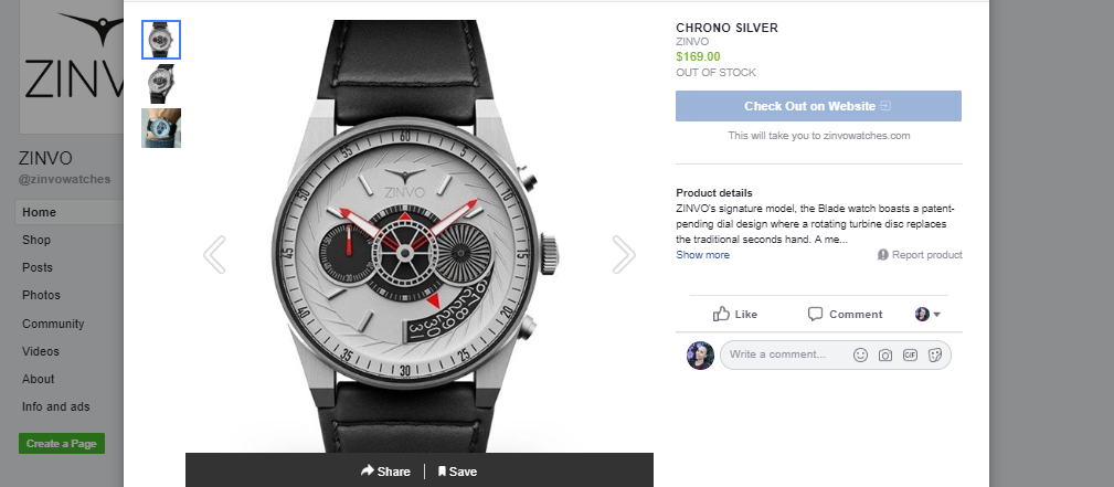 Facebook one of the great Shopify sales channel