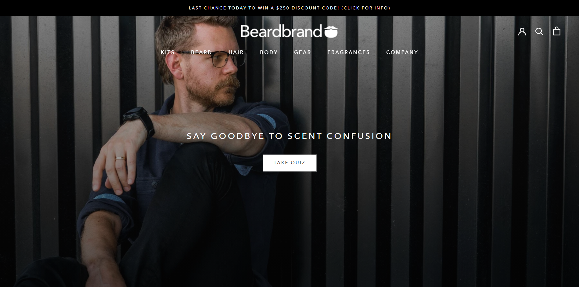 The second example of a good landing page