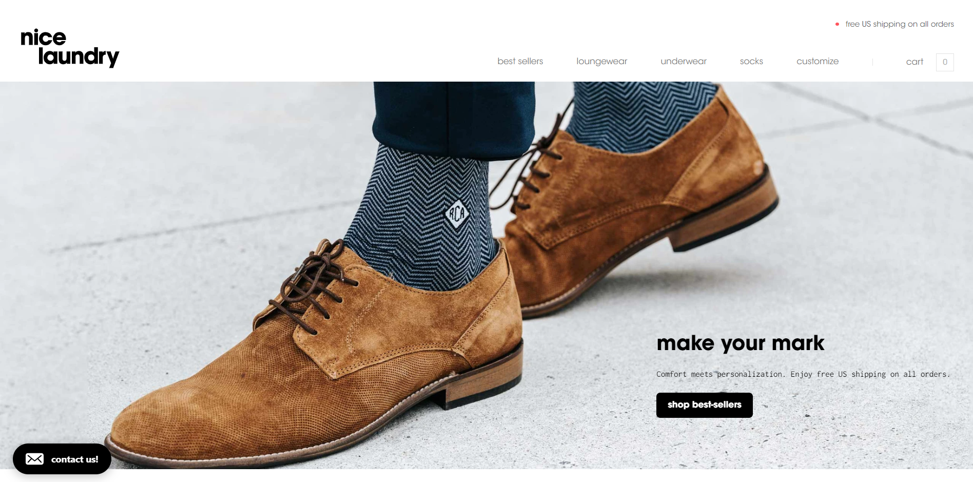 The fourth example of a good landing page