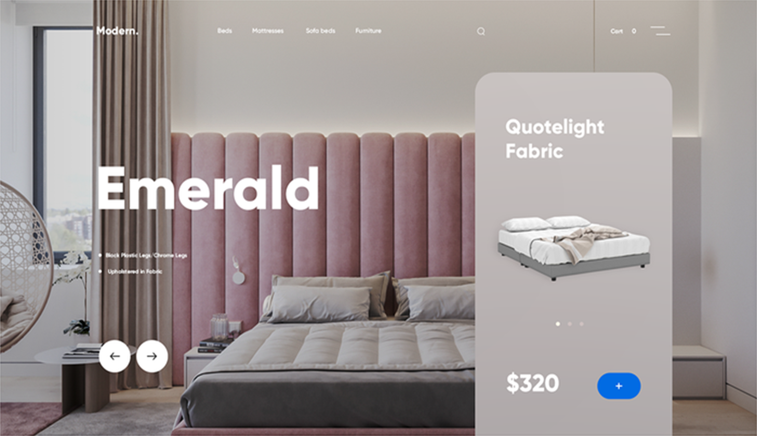example of header image size in Shopify store