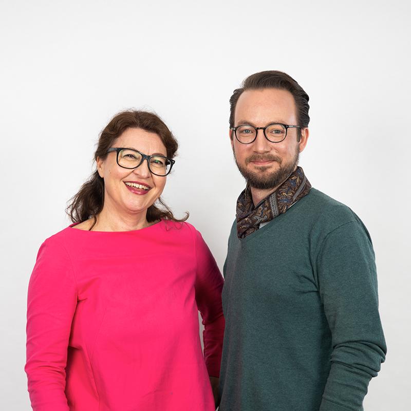 Britta Korpas und Daniel Bischoff