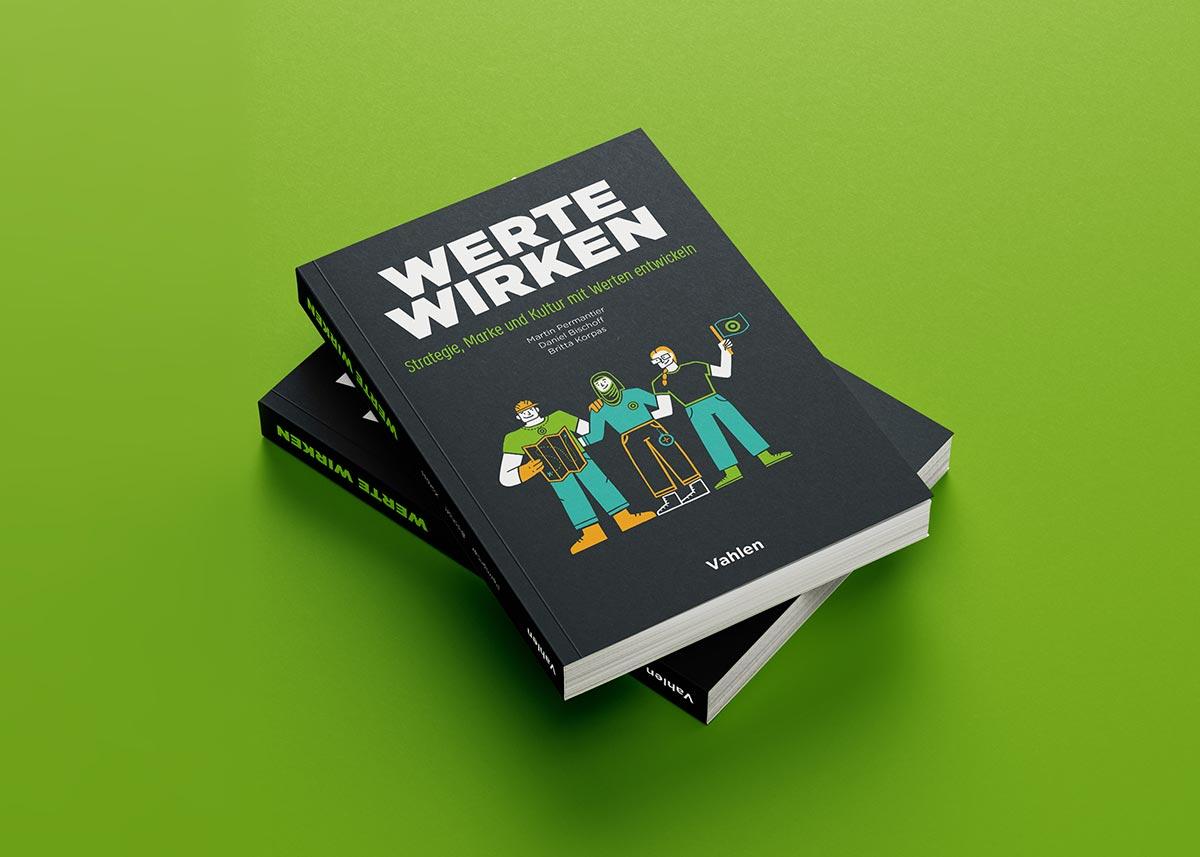 Das Buch Werte Wirken vom Vahlen Verlag