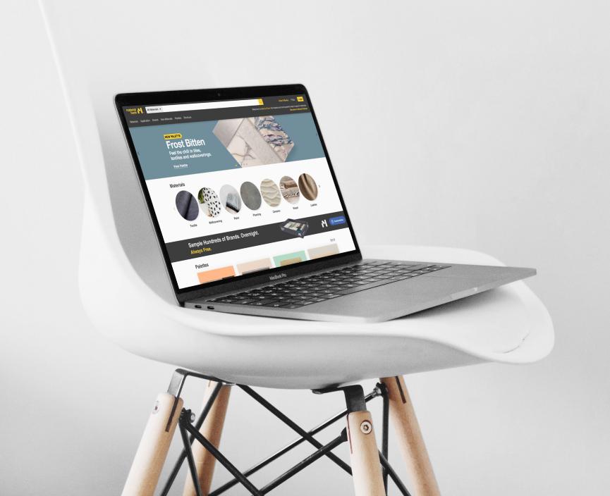 materialbank showcase imagination media