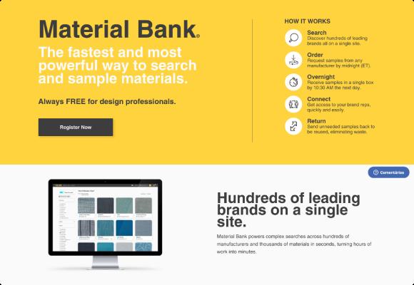 materialbank screenshot showcase 1