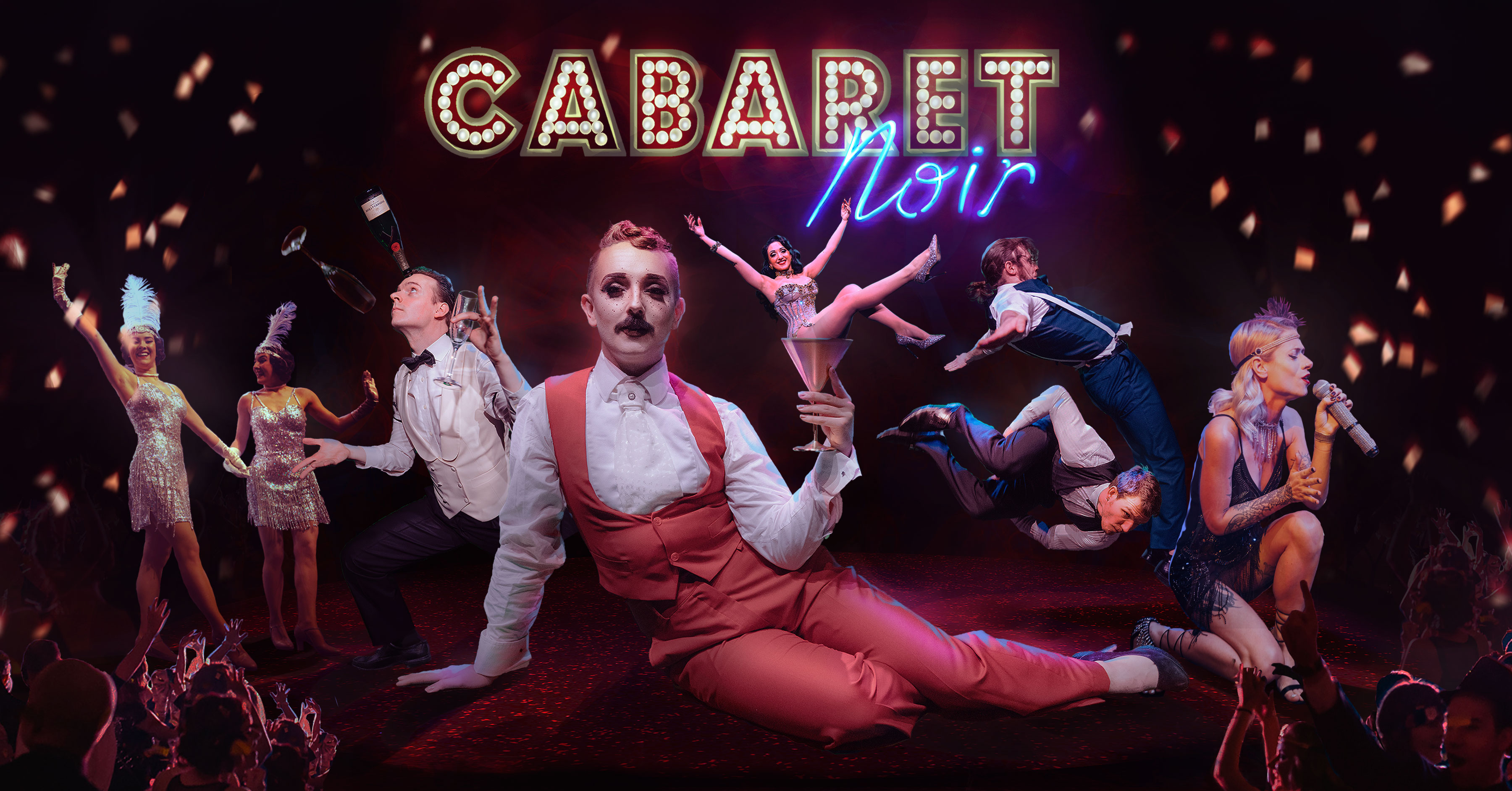 Party Like Gatsby - Cabaret Noir Banner