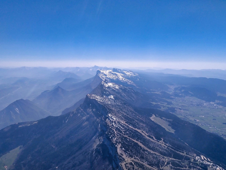 Main ridge of Vercors.