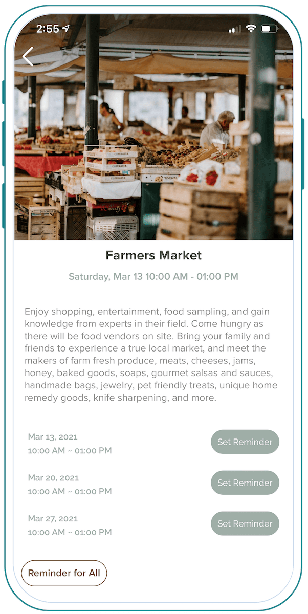 Acorn Square Farmers Market Event