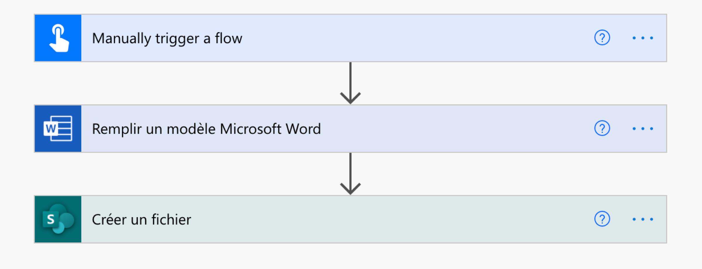 Générer un document à partir d'un modèle avec Microsoft Power Automate