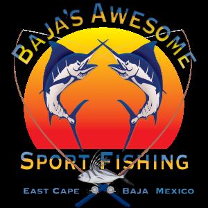 Baja's Awesome Sport fishing logo