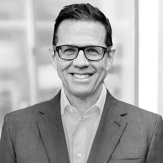 Mark Jennings; black and white