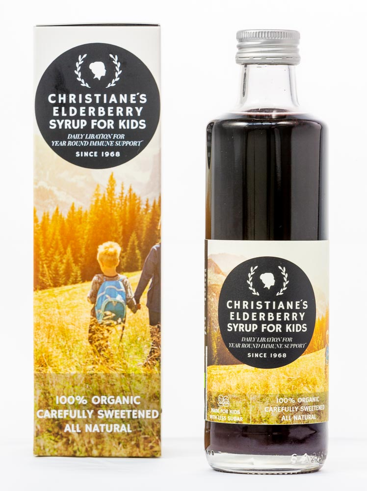 Elderberry Syrup for Kids