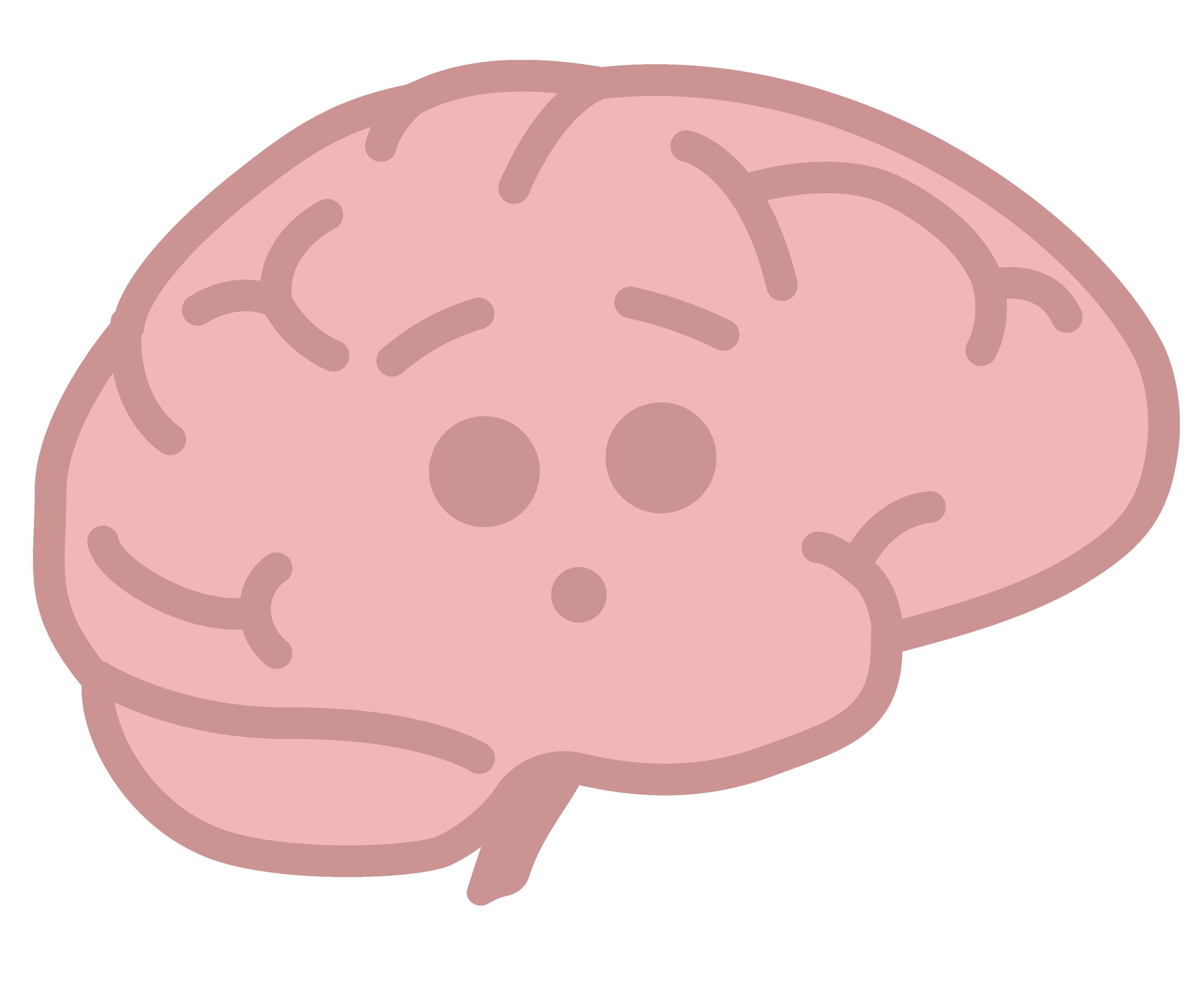 Surprised brain