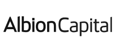 Greyscale logo for Albion Capital