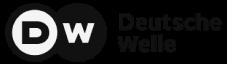 Deutsche Welle logo in greyscale