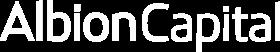 albion capital logo in white