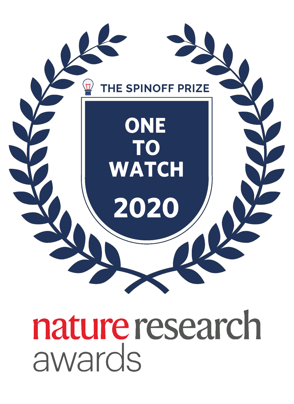 nature research awards one to watch 2020 badge