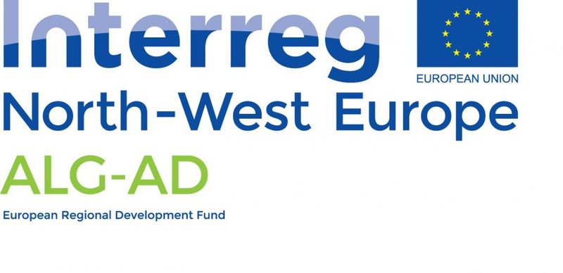 interreg north-west europe ALG-AD badge