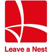 leave a nest logo