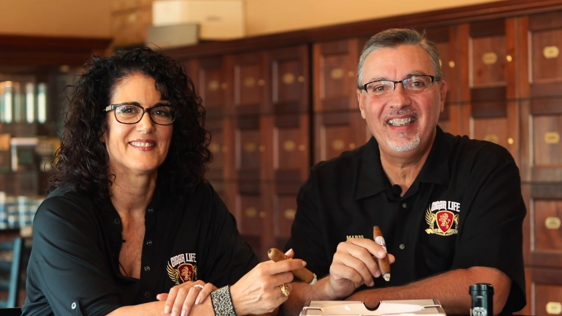 Mario and Patty from Cigar Life