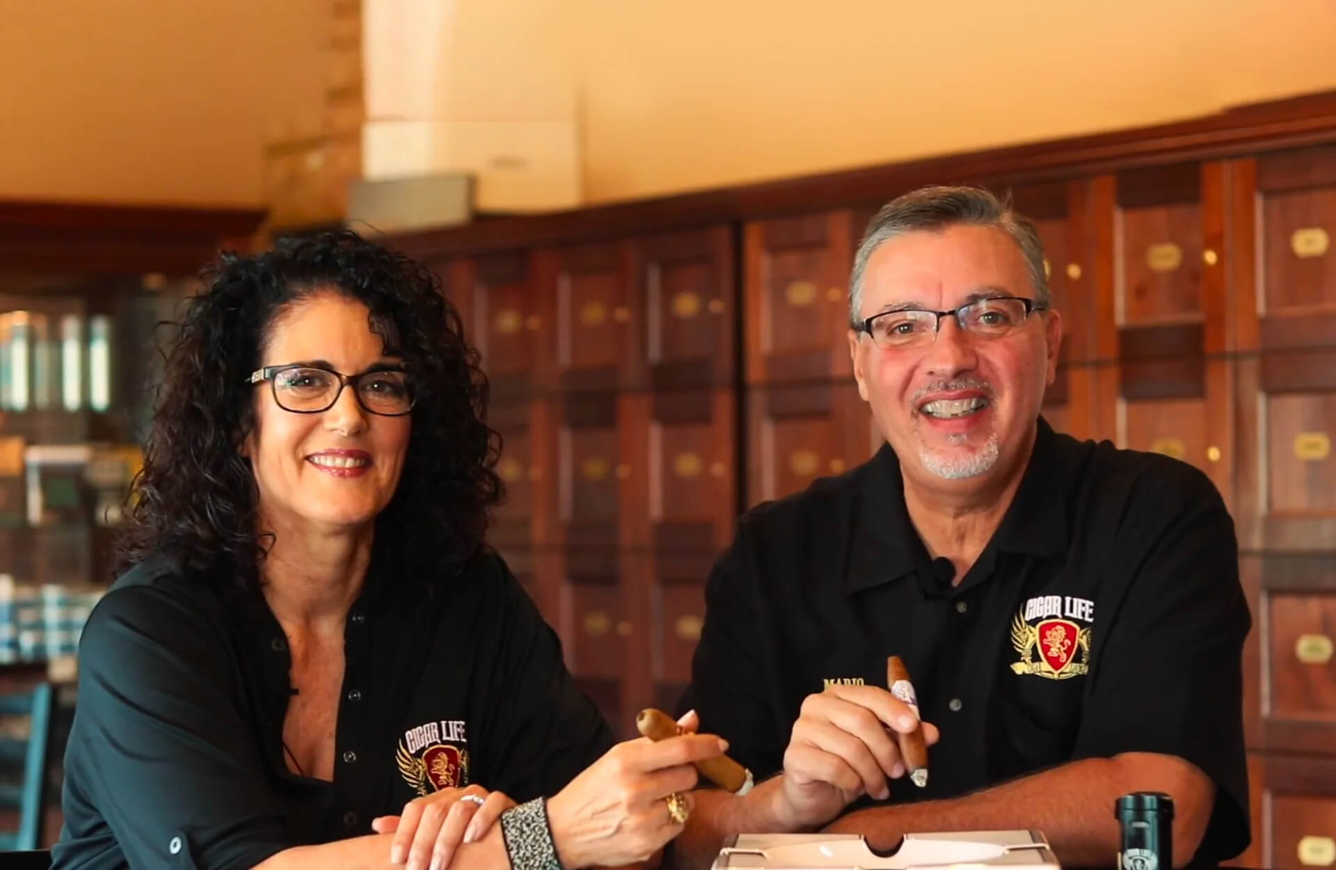 Mario and Patty from Cigar Life - Female Owned Small Business