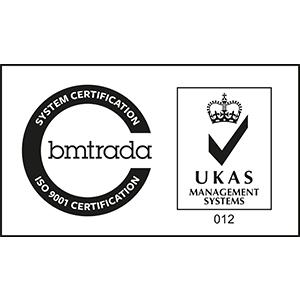 BM Trada ISO 9001 Logo