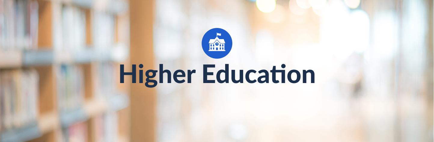 Higher Education - Hero