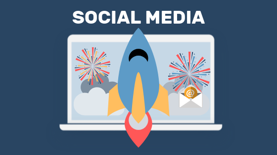 Social Media as a tactic to gain website traffic.