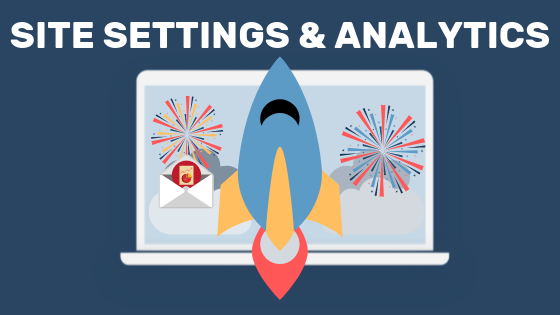 Adjustments of site settings and site analytics as a tactic to gain website traffic.